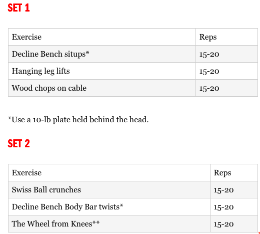 training and diet plan to get ripped pdf