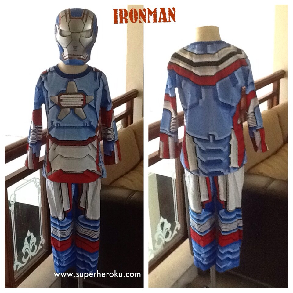 Kaos Anak Karakter Iron Man Patriot