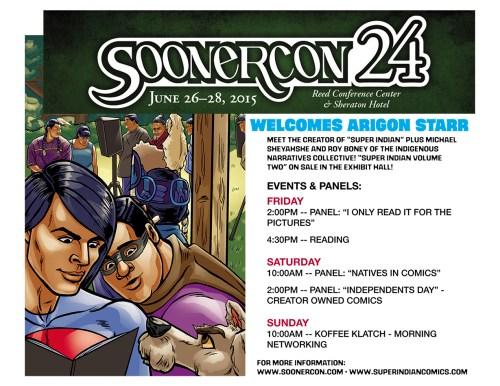 SoonerCon 2015 Flyer