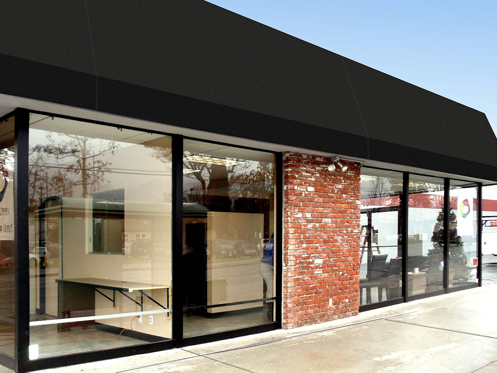 Dimension Lit Standard Storefront Awnings | Superior Awning