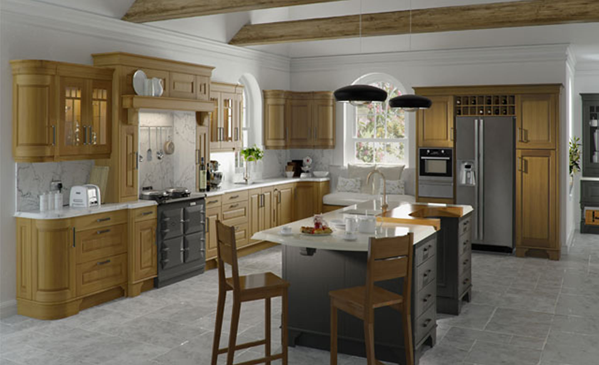 Kitchen Cupboard Painters Leicestershire Painted Oak Kitchens Uk Painted Veneered Oak Kitchen Modern