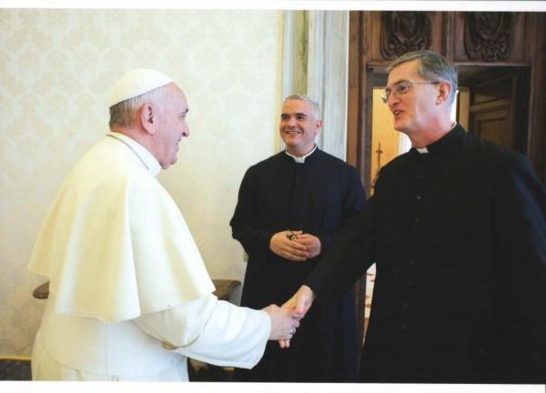 Con el Papa Francisco 15-XI-14