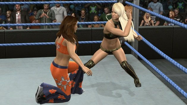 Maryse vs Mickie James - Smackdown vs RAW 2010 / THQ.com