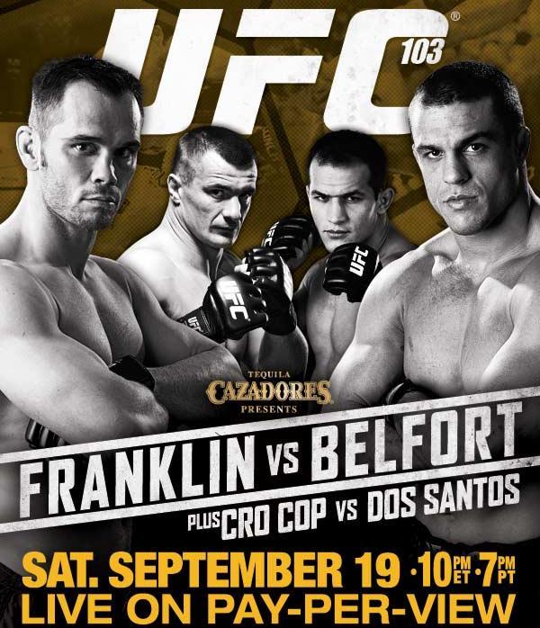 UFC 103: Franklin vs Belfort - UFC.com