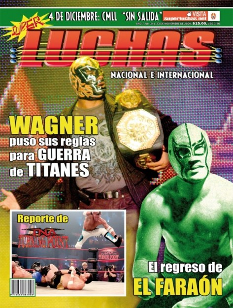 Super Luchas 341 (Desde el 23 de noviembre de 2009) – Dr