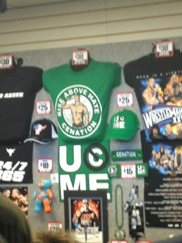 Venta camisetas de John Cena