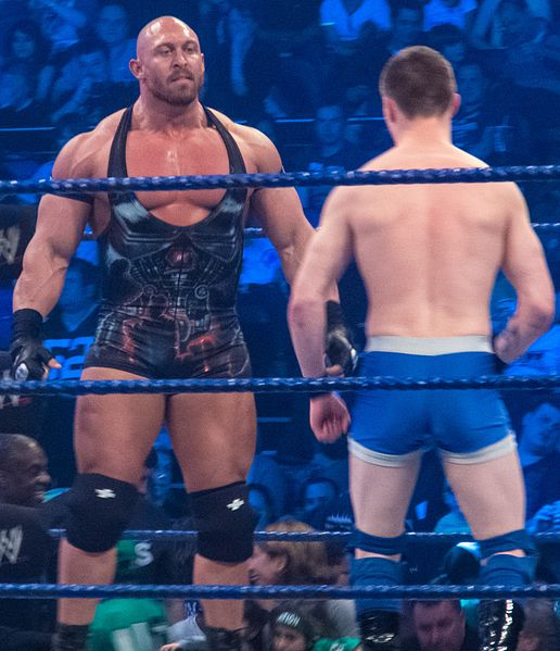 Ryback vs. James Lerman en las grabaciones de SmackDown (17/4/12) / Photo by: Simon - Wikipedia.org