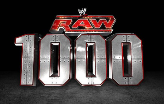 WWE RAW 1000