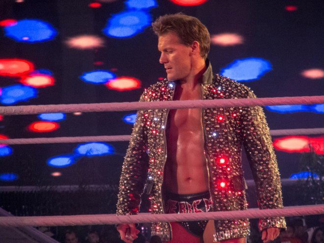Chris Jericho hace su entrada en WWE WrestleMania 28 (1/4/12) / Photo by: simononly - Flickr.com