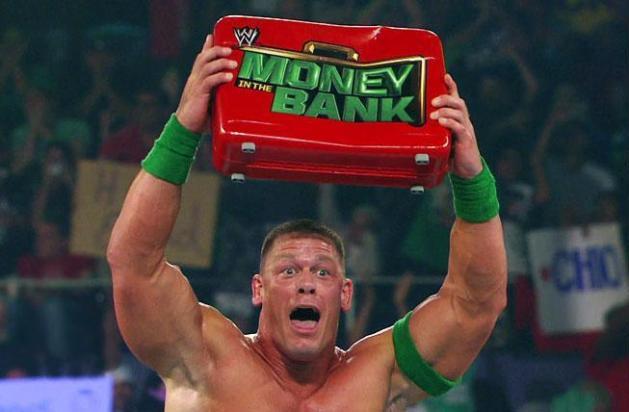 John Cena gana el Maletín WWE Championship Money in the Bank 2012 (15/7/12) / Facebook.com/WWE