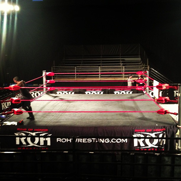 Ring de ROH / twitter.com/VINNYMARSEGLIA