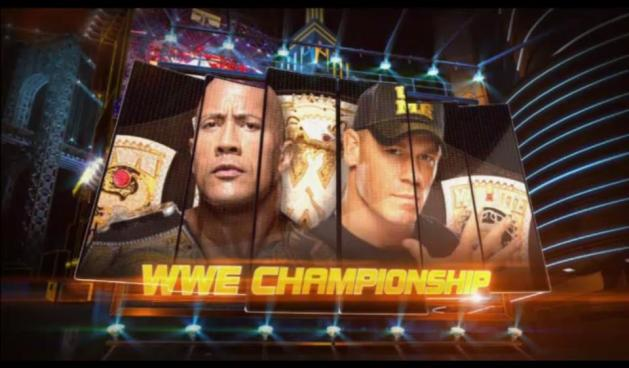 WWE Championship Match: The Rock © vs. John Cena II en WWE WrestleMania 29 (7/4/13)