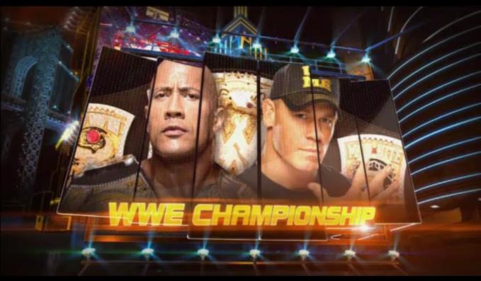 WWE Championship Match: The Rock © vs. John Cena II en WWE WrestleMania 29 (7/4/13)