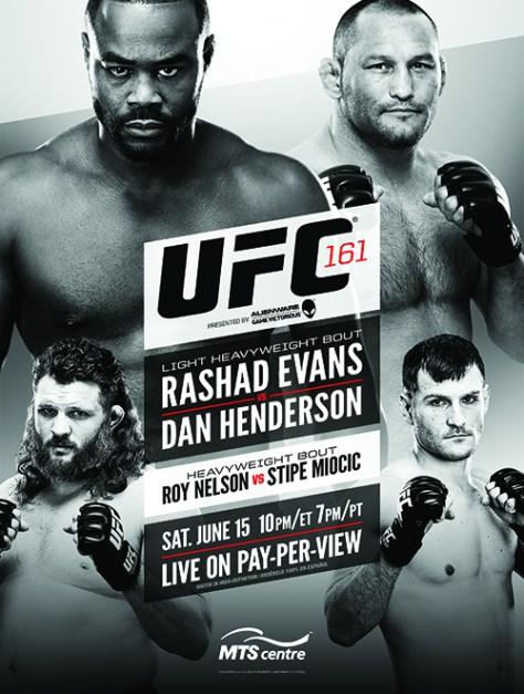 Cartel final UFC 161