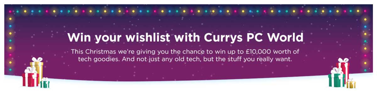 Christmas Wishlist Competitions SuperLucky