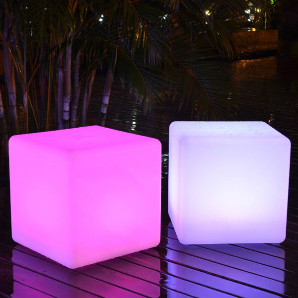 Bar Exterieur Lumineux Color Changing Led Outdoor Light Cube Sp-3535 | Super