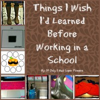 Things I Wish I'd Learned Before Working in a School