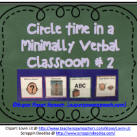 Circle Time in a Minimially Verbal Classroom #2