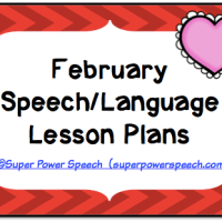 February Lesson Plans 2015