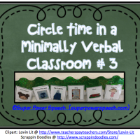 Circle Time in a Minimally Verbal Classroom #3