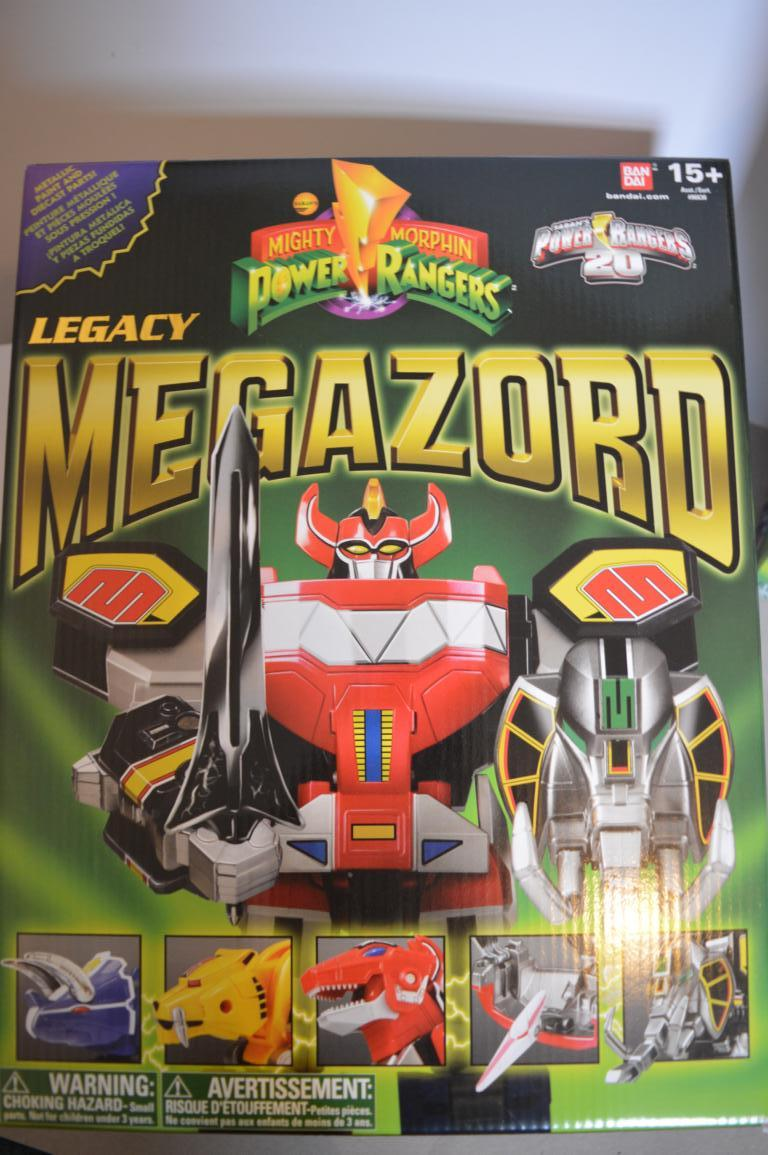 Toy Story Toys Videos Power Rangers Legacy Megazord Toy Review