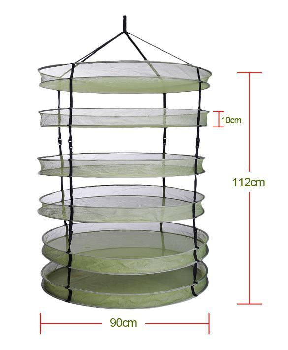 Advanced 6 Layer 35quot Quick Cure Hanging Drying Rack Curing