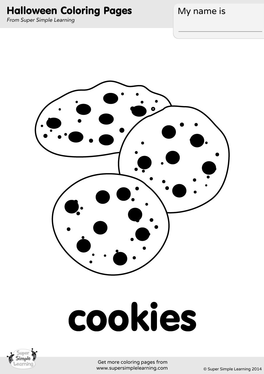 Cookies Coloring Page - Eskayalitim