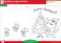 We Wish You A Merry Christmas Worksheet  Make A Chirstmas ...