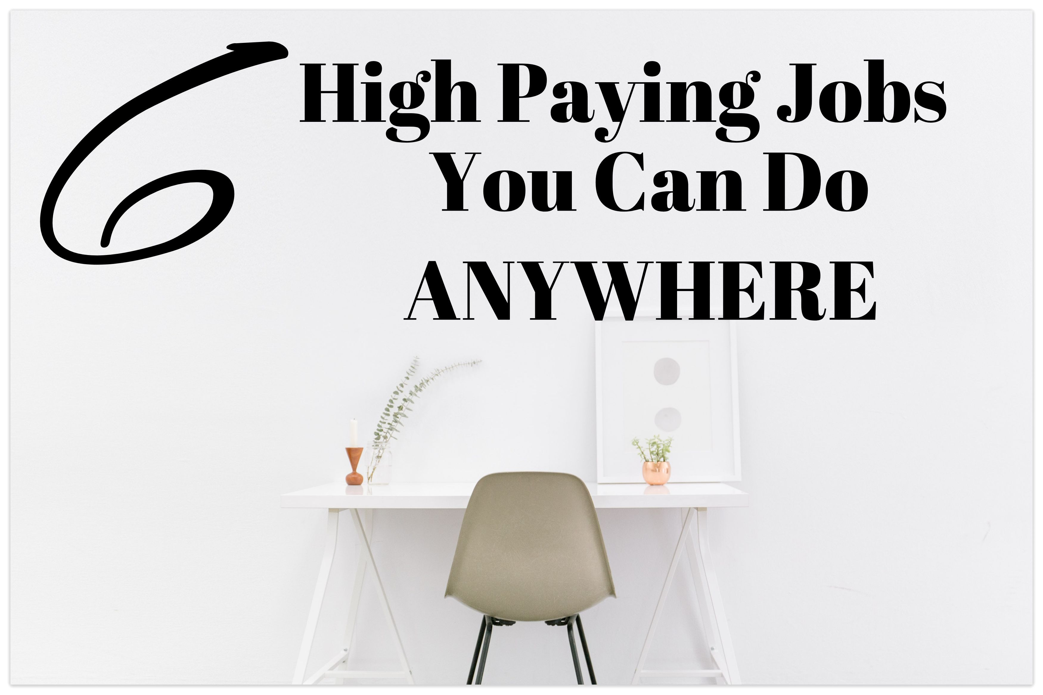 20 Work From Home Jobs 6 Highest Paying Work From Home Jobs Super Simple Ways