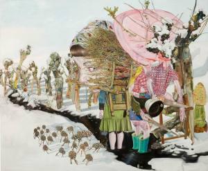 Leopold Rabus, The shepherd and the lumberjack, 2006