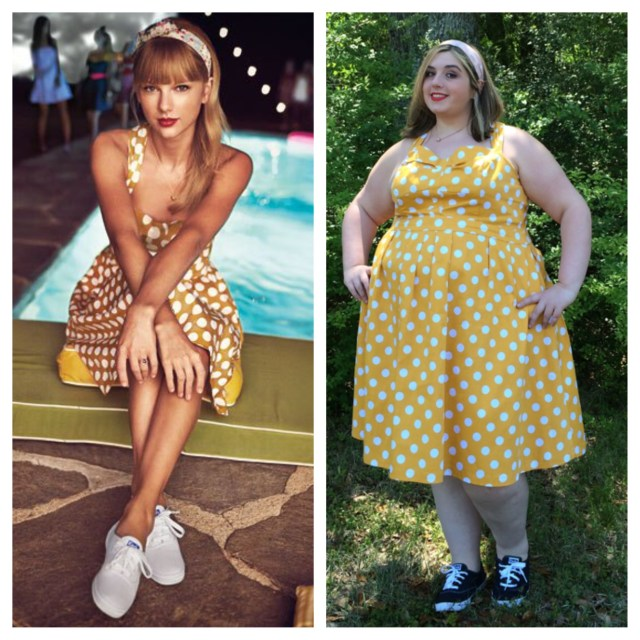 Photo on left from Story by Modcloth
