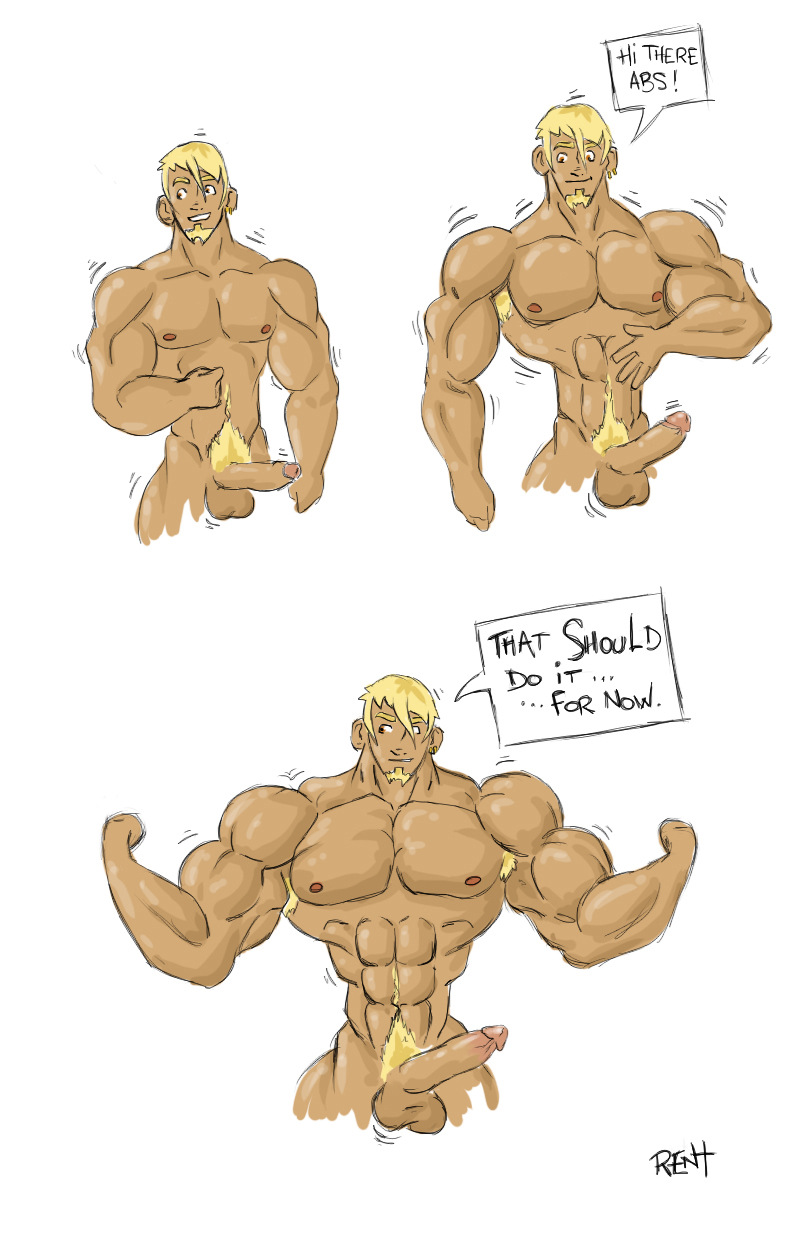 mature beach nude muscle male
