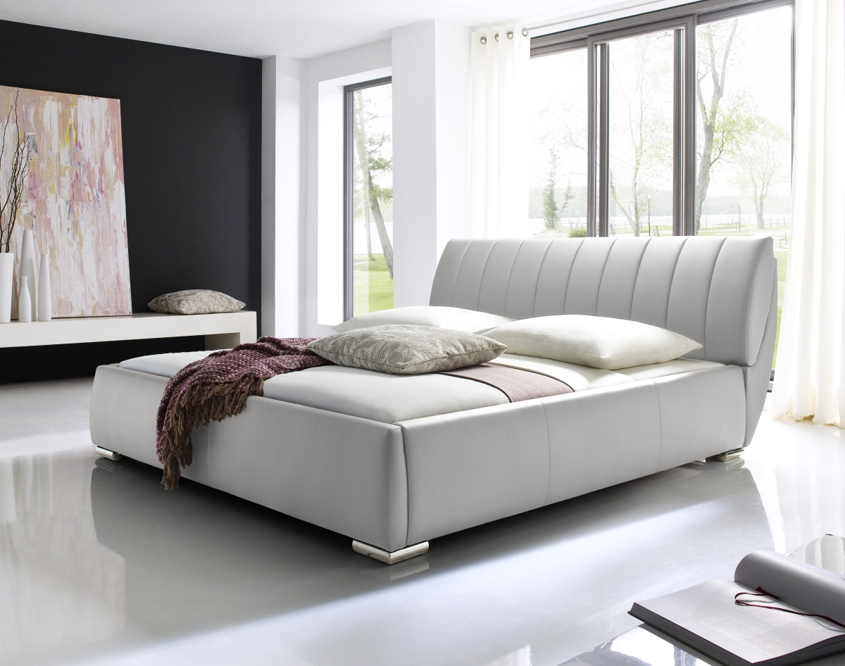 Lederbett 160x200 Designer Leather Bed