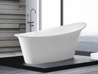 Freistehende Badewanne gnstig 170x80 cm gnstig Wanne