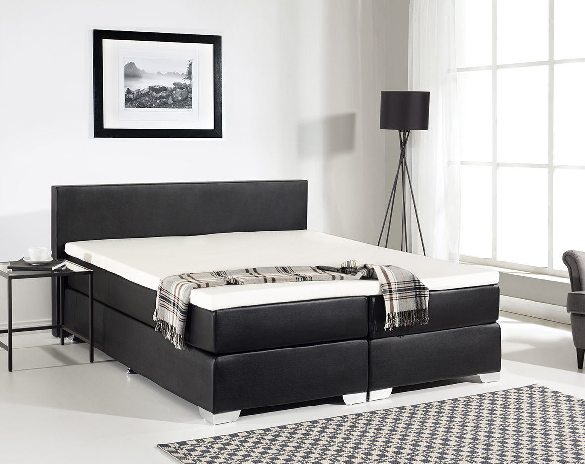 Boxspring Gestell Leather Boxspring Bed