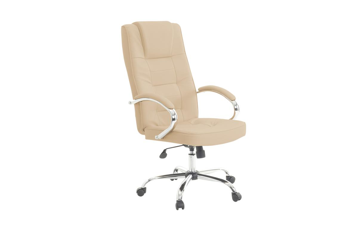 Sessel Leder Beige Leder Chefsessel Massagesessel Luxus Ledersessel Creme Weiss Beige Mit Massage | Supply24