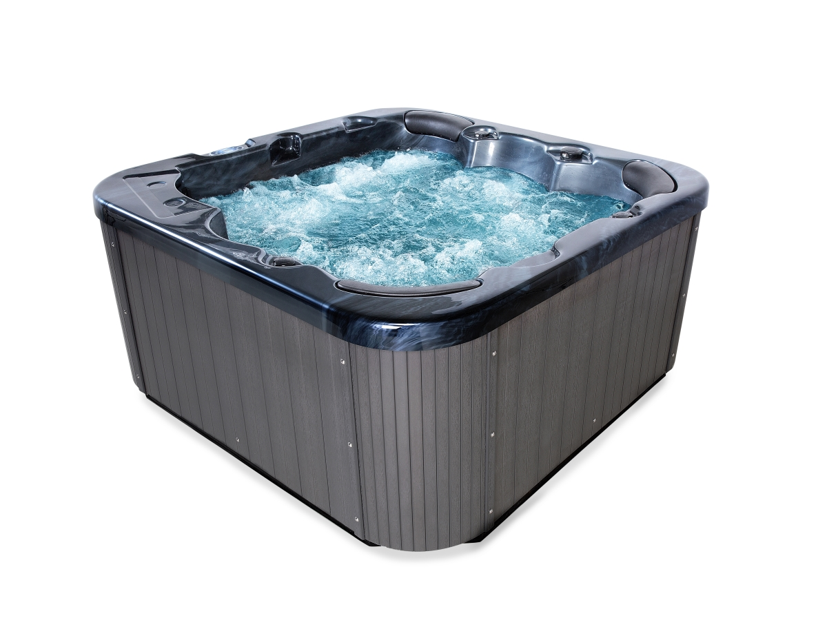 Outdoor Whirlpool Cheap Outdoor Whirlpool Spa Zeus Black With 44 Massage Jets Heating Ozone Disinfection For 6 People