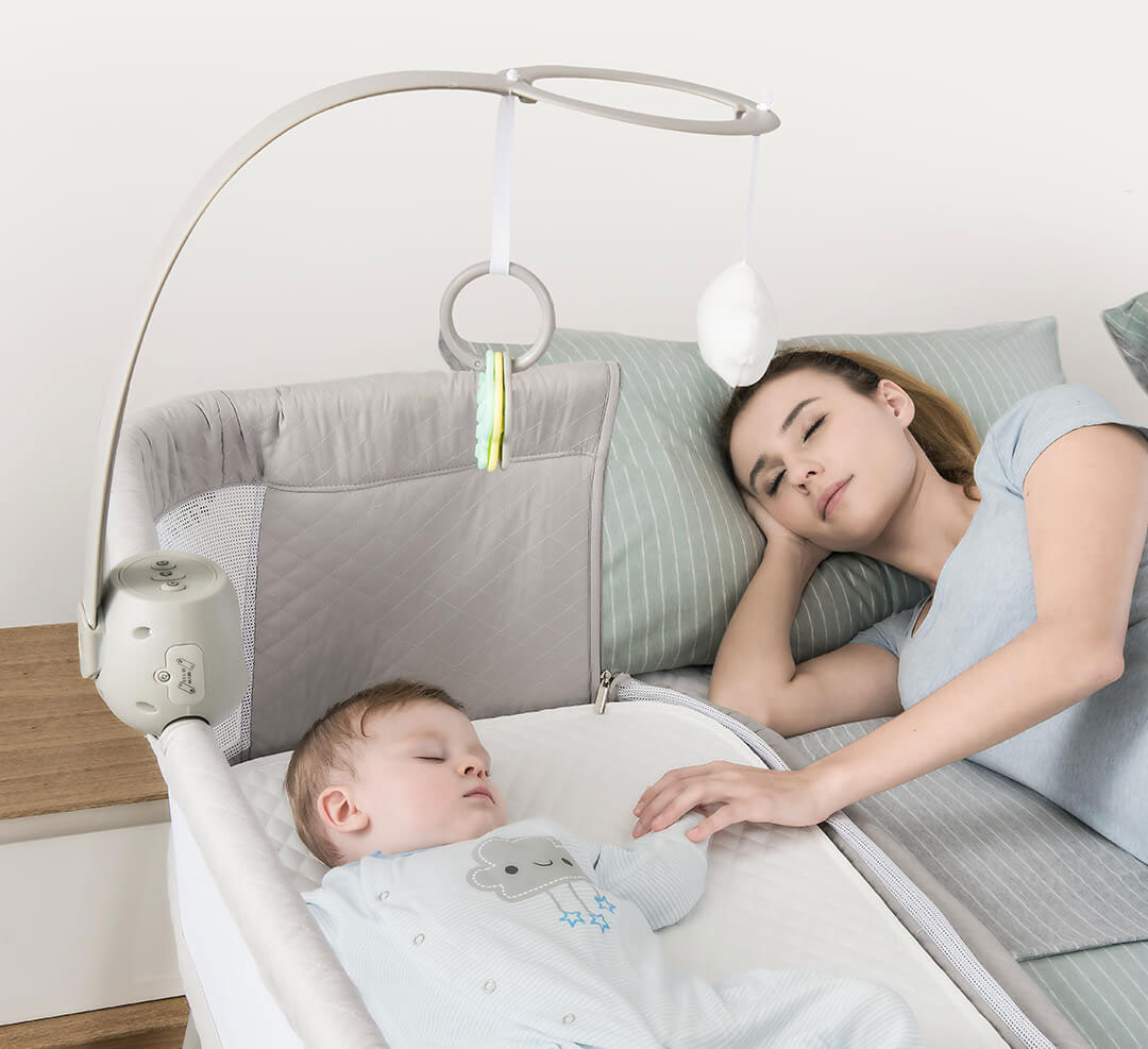 Baby Cots That Attach To Beds Xiaomi Ronbei Baby Co Sleeping Cot