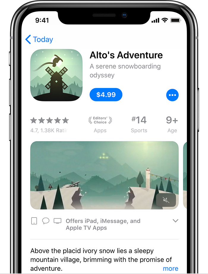 Download apps and games using the App Store - Apple Support
