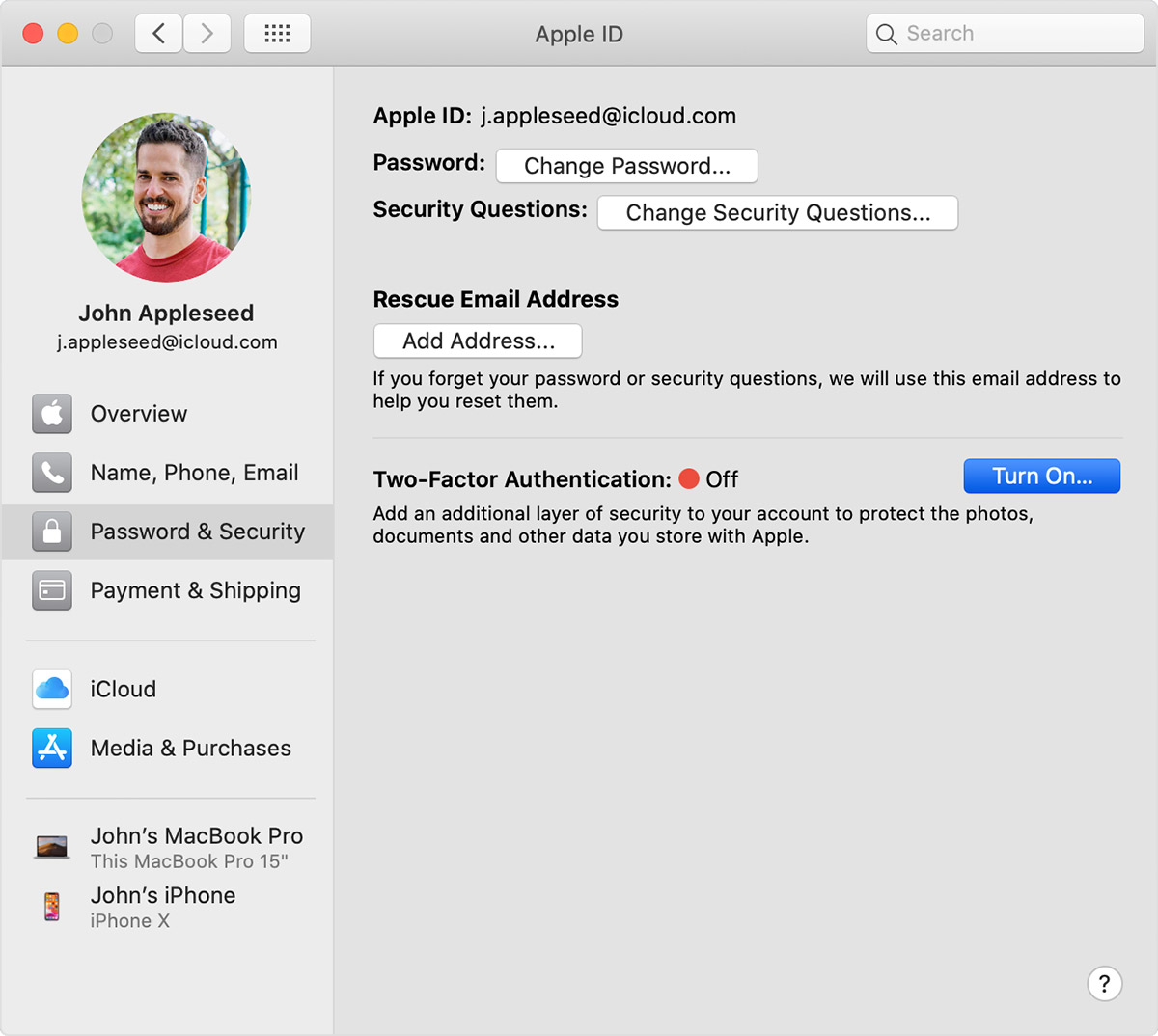 Einrichten Apple Id Two Factor Authentication For Apple Id Apple Support