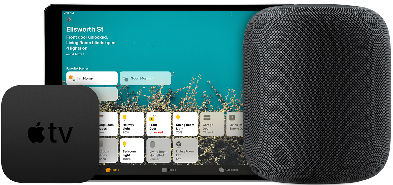 Tv 4 Set Up Your Homepod Apple Tv Or Ipad As A Home Hub Apple Support