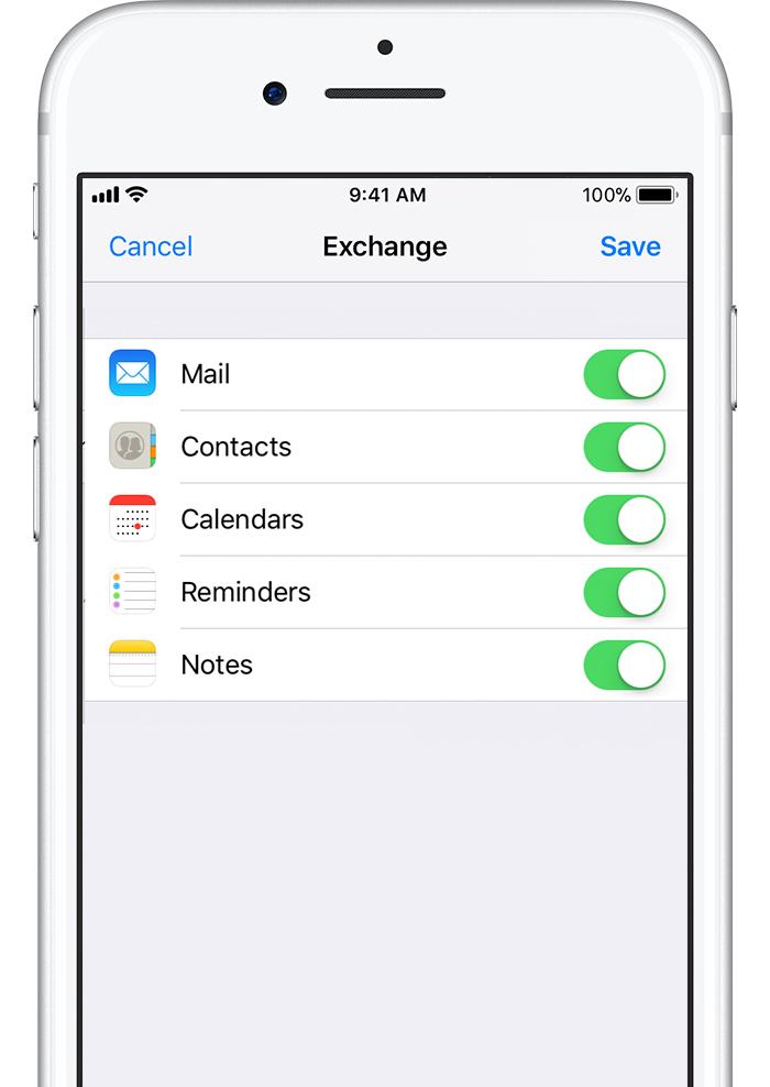 Set up Exchange ActiveSync on your iPhone, iPad, or iPod touch