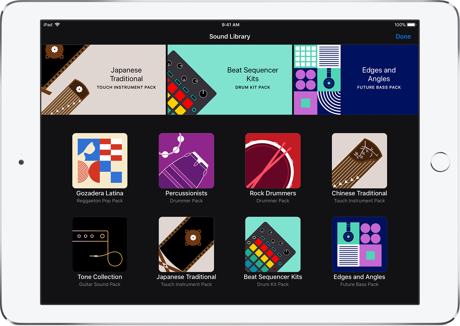 Garageband Loops Download Additional Free Sounds In Garageband For Ios Apple Support