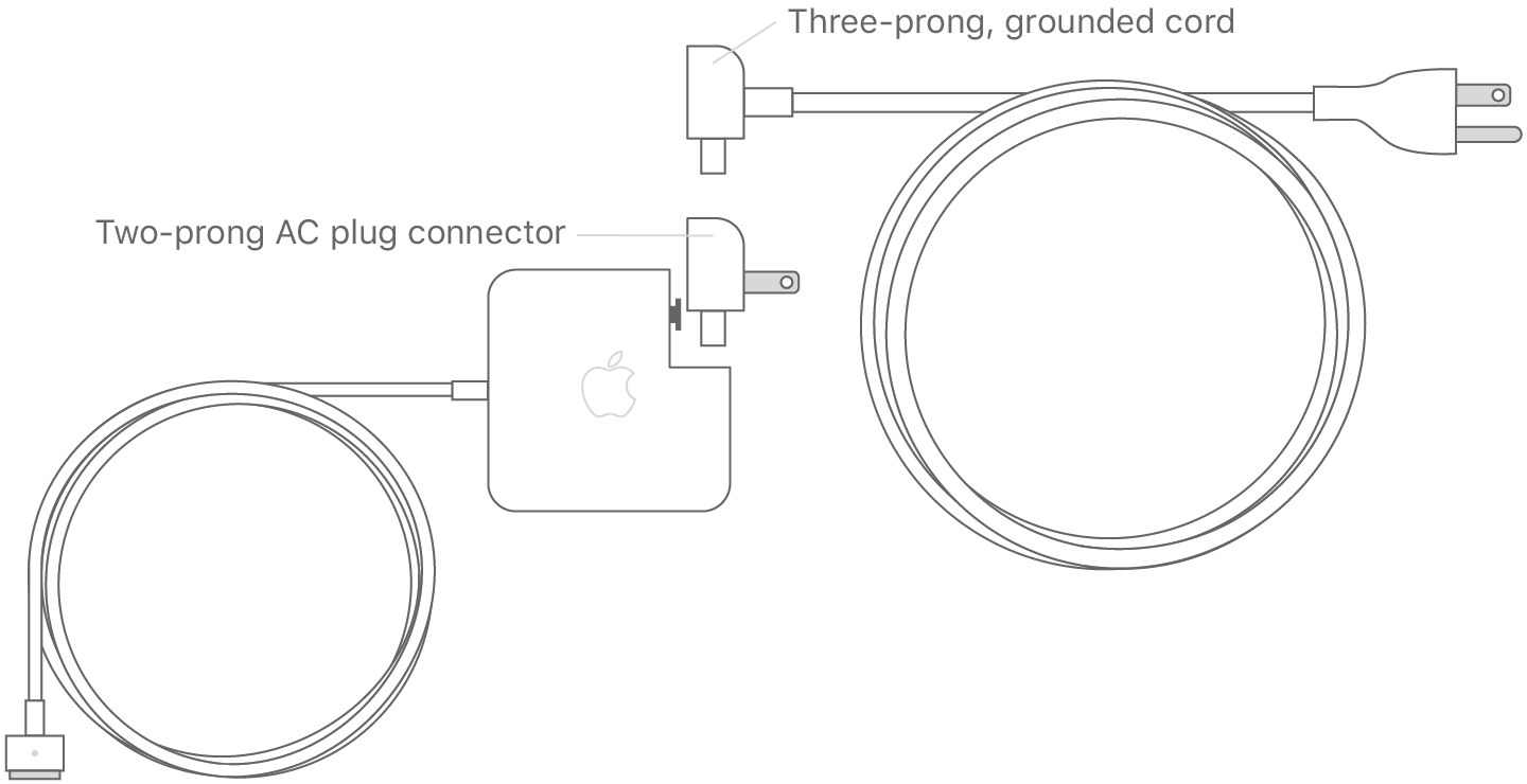 apple charger connector diagram