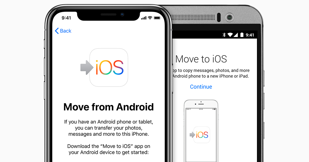 Move from Android to iPhone, iPad, or iPod touch - Apple Support