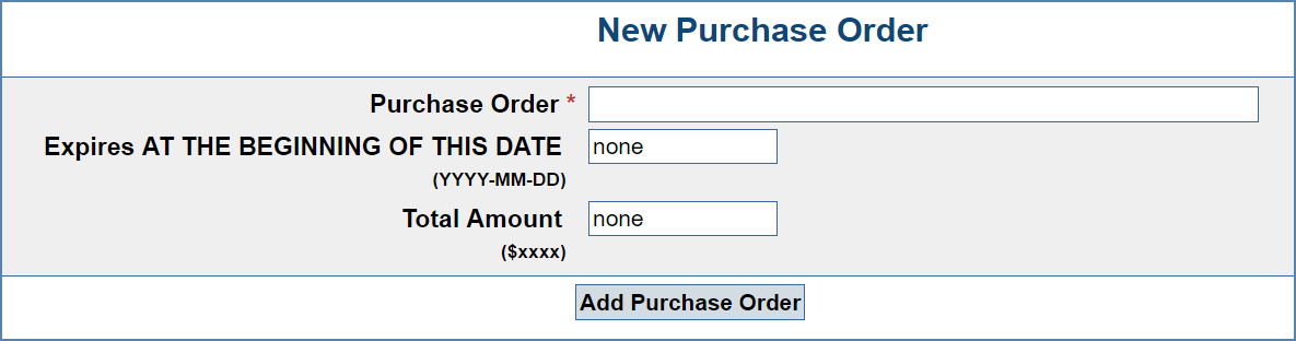 Managing and Adding Purchase Orders \u2013 CaptionSync Support Center