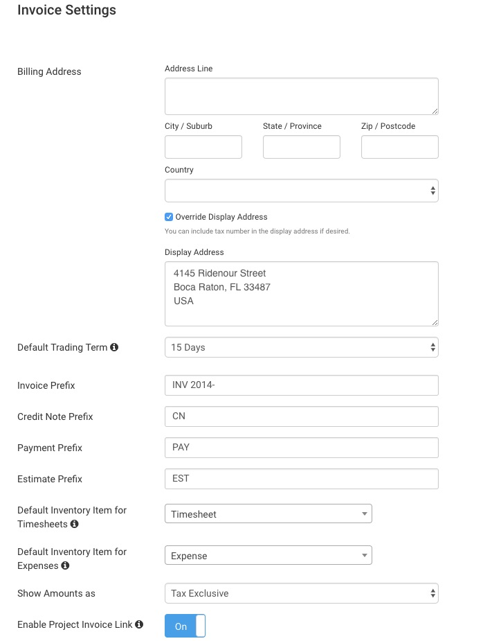Getting Started with Invoices - Avaza Support - invoices