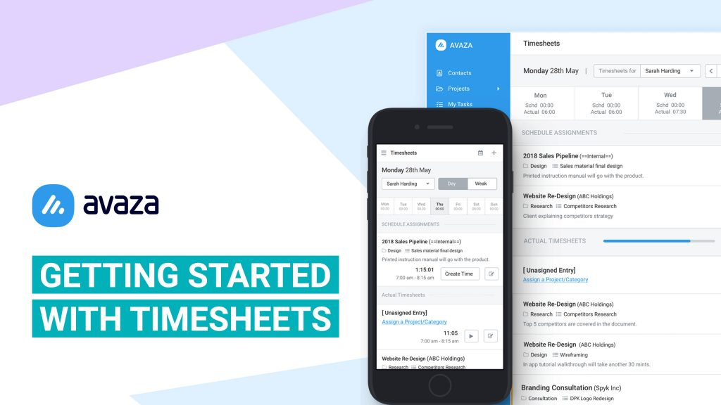 Getting Started with Timesheets - Avaza Support