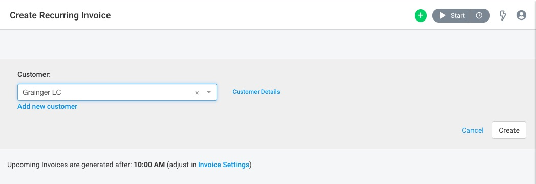 How Do I Set up a Recurring Invoice? - Avaza Support