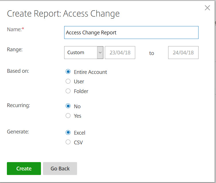 How to Create a ShareFile Report